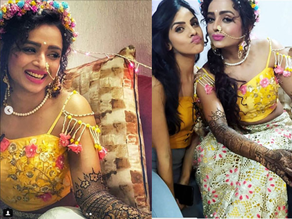 Yeh Rishta Kya Kehlata Hai's Parul Chauhan Makes For A Beautiful Bride In Mehendi Ceremony PICS!