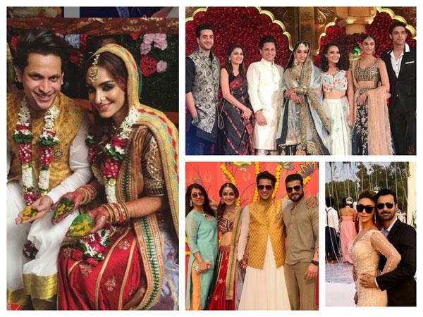 Erica Fernandes, Parth Samthaan, Sriti Jha, Karan Patel & Others Attend Chloe & Aslam's Wedding