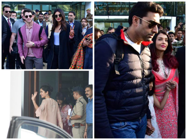 Isha Ambani's Wedding: Aishwarya Rai, Priyanka & Nick, Salman Khan, Katrina Kaif & Others Arrive!
