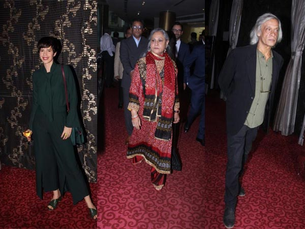 Acclaimed Actors Kalki Koechlin, Jaya Bachchan Attend 2nd Indo-French Professional Meetings
