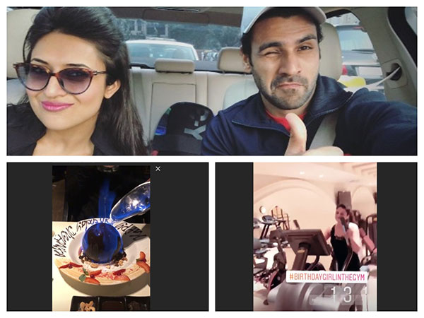 Divyanka Tripathi Rings In Her Birthday With Husband Vivek; YHM's Karan, Anita & Others Wish Her!