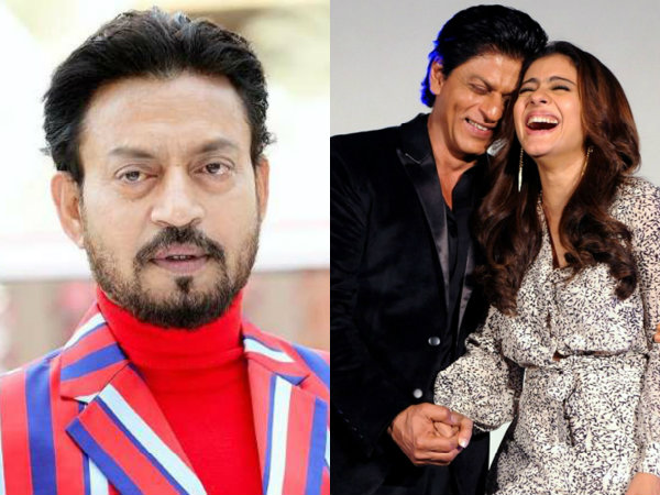 Shahrukh & Kajol To Star In Irrfan Khan's Hindi Medium Sequel?