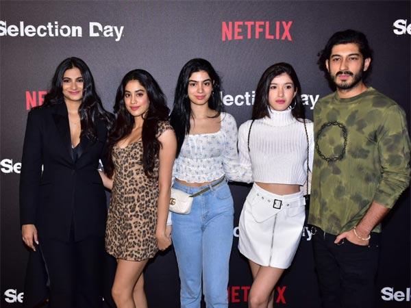 Pics: Janhvi, Khushi, Shanaya, Sanya, Fatima Others Attend Netflix Series' Selection Day Screening!