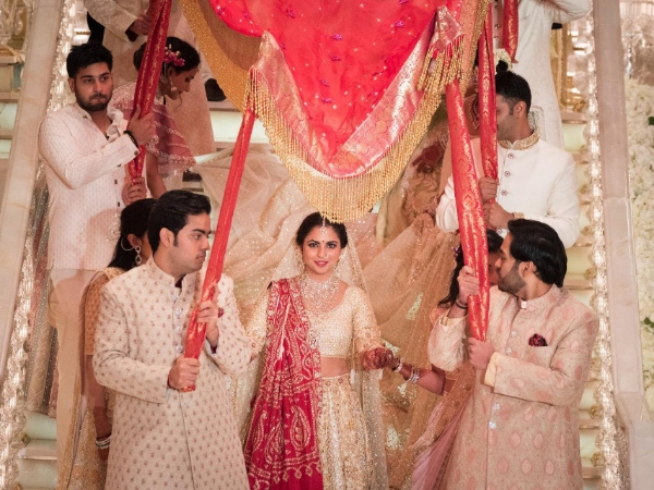 The Gorgeous Bride Isha Ambani