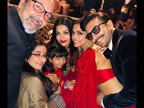 Ranveer, Deepika, Aishwarya & Aaradhya Captured In One Frame & The Moment Is Priceless!