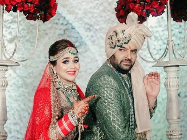 This Picture Of Kapil Sharma & Ginni Chatrath From Their Wedding Is Going Viral; Here's Why!