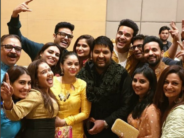 FIRST PICS From Kapil Sharma & Ginni Chatrath's Mata Ka Jagran; Krushna, Sudesh & Others Attend!