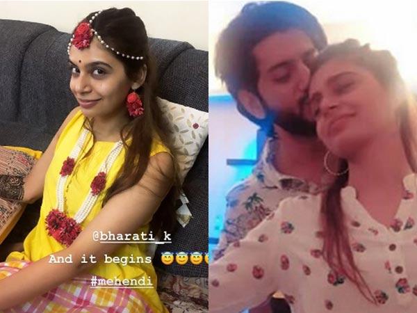 Ishqbaaz Fame Kunal Jaisingh's Wife-to-be Bharati Kumar Is Glowing In Yellow At Mehendi Ceremony!
