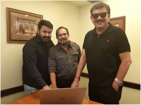 Mohanlal Joins The Shoot Of Priyadarshan's Marakkar Arabikadalinte Simham!