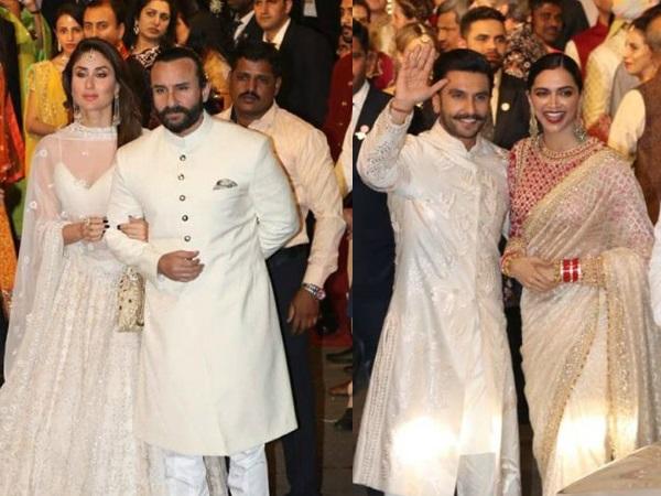 Isha Ambani's Wedding: Ranveer- Deepika, Saif- Kareena, SRK, Salman Add Glitter To The Wedding
