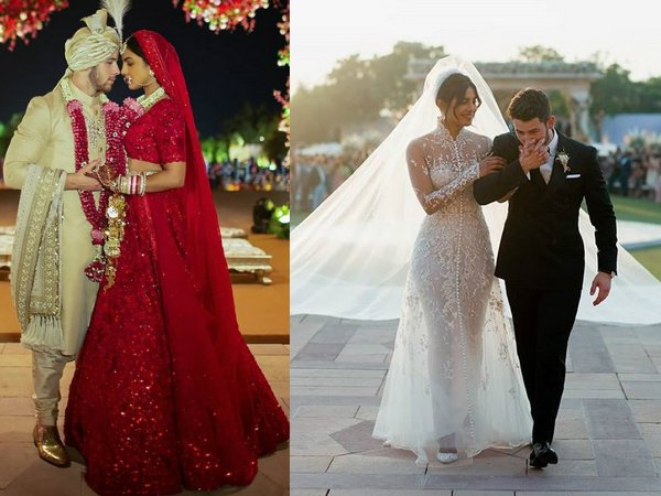 Priyanka Gets Candid About Her Outfits From Christian & Hindu Weddings
