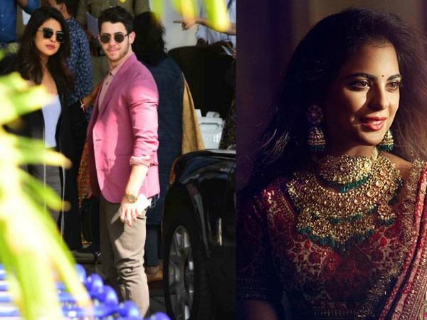 Priyanka Chopra, Nick Jonas, Karan Johar & Others Head To Udaipur For Isha Ambani's Wedding?
