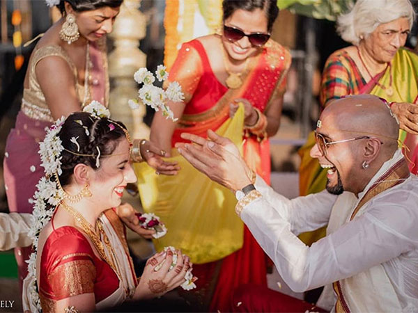 Raghu Ram-Natalie Di Luccio Wedding Pics Out;  It's All About Love, Laughter & Endless Fun!