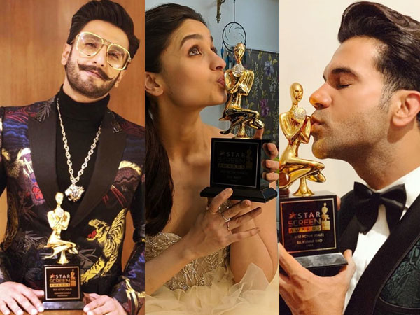 Star Screen Awards 2018 Winners List: Ranveer Singh, Alia Bhatt, Rajkummar Rao Bag Awards