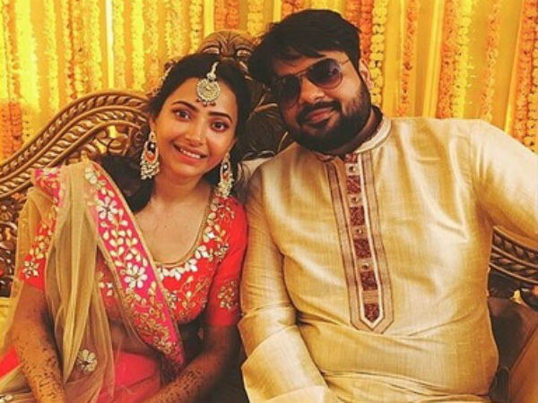 Shweta Basu's Mehendi & Engagement Ceremonies PICS Out & Bride-to-be Is All Set For Poolside Party