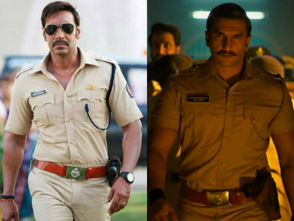 Ranveer Singh Is Highly MIFFED With Ajay Devgn For Stealing His Thunder In Simmba