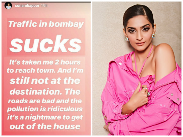 Sonam Kapoor Calls A Man 'Harasser' For Educating Her On Global Warming