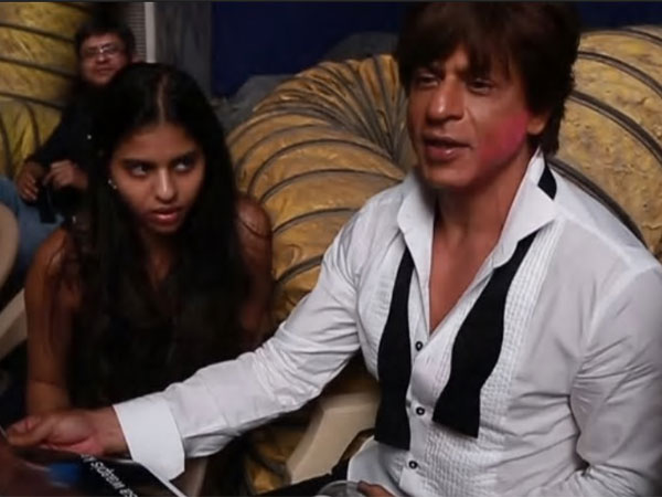 SRK Wanted Suhana To Spend Time With Anushka & Katrina