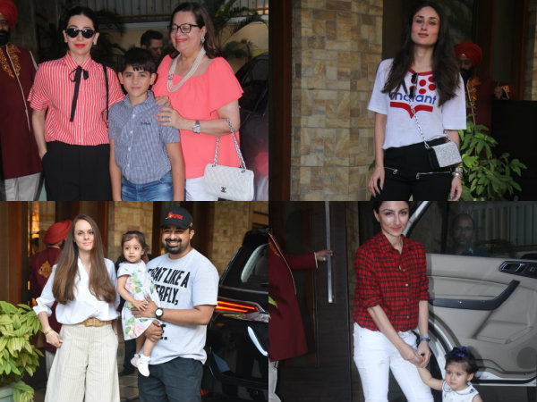 Taimur Celebrates His 2nd Birthday In Advance As Kareena Kapoor Throws A Big Bash! View Pictures