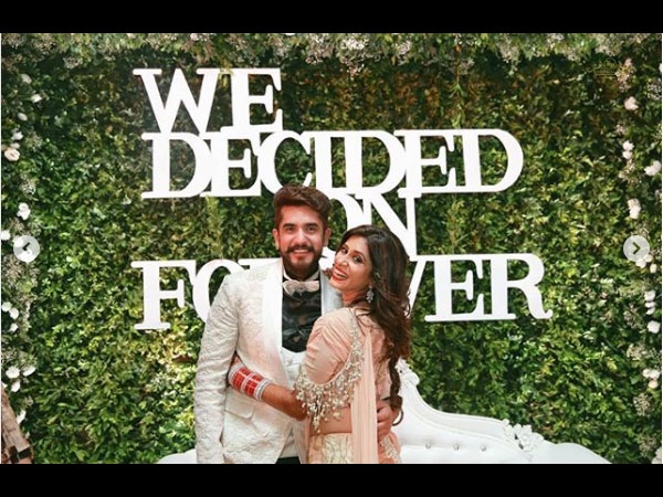 Kishwer & Suyyash Embrace Their 'We Decided On Forever' Moments On Second Wedding Anniversary!