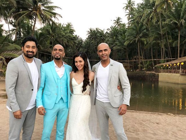 Raghu Ram & Natalie Di Luccio's White Wedding In Goa Is No Less Than A Fairy Tale! INSIDE PICS