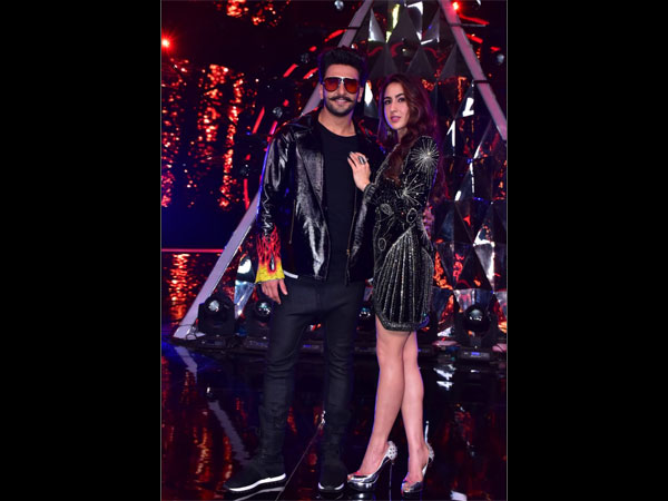 Ranveer Singh & Sara Ali Khan Grace Indian Idol 10 Semi-finals As They Promote Their Film Simmba