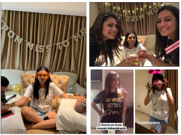 Additi Gupta's Mehendi Ceremony: Drashti Dhami, Anita Hassanandani, Kritika-The Girls Have A Blast!
