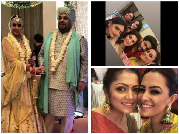 Additi Gupta Makes A Beautiful Bride; Drashti Dhami, Pooja Gor & Others Attend Additi's Wedding!
