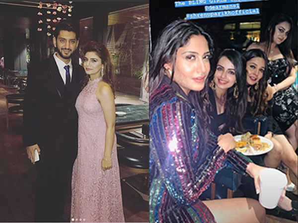 Ishqbaaz's Surbhi, Nakuul, Shrenu & More Have A Blast At Kunal-Bharati's Cocktail Party! View Pics