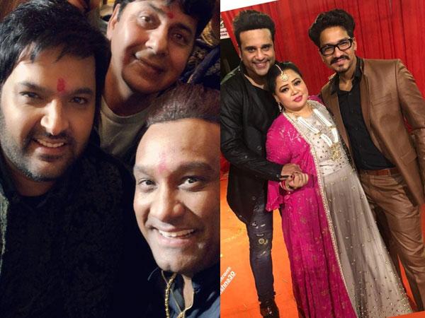 Kapil Sharma Ginni Chatrath Wedding: Bharti, Haarsh & Others Seen Grooving At Sangeet! INSIDE PICS