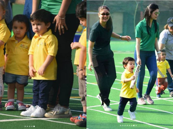 Taimur Participates In His First Sports Day At School, Wins Gold Medal! View Pictures