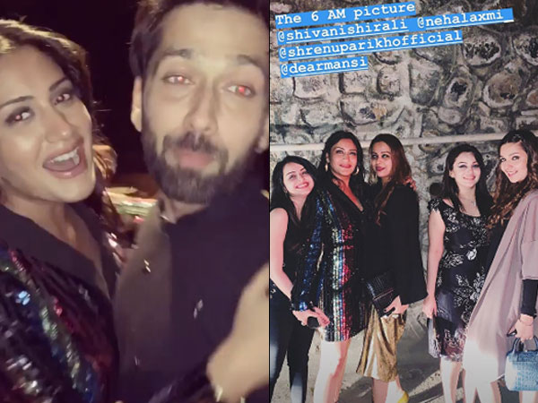 Surbhi & Nakuul  Goof Around Ishqbaaz Sets On Last Day Of Shoot; They Have A Tip For Nickyanka!
