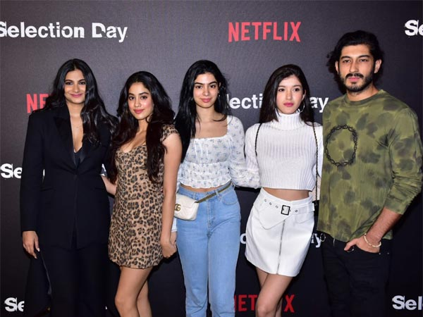 Pics: Janhvi, Khushi, Shanaya, Sanya, Fatima Others Attend Netflix Series' Selection Day Screening!