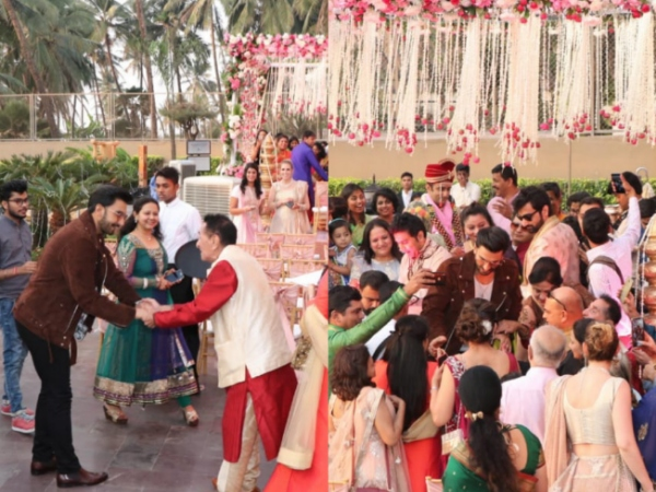 Ranveer Singh Gate Crashes Wedding, Congratulates Couple During Simmba Promotions!