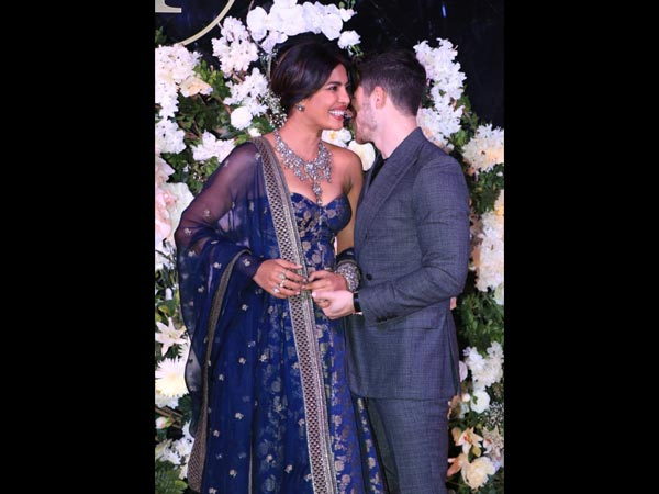 Priyanka Chopra and Nick Jonas's second wedding reception in Mumbai