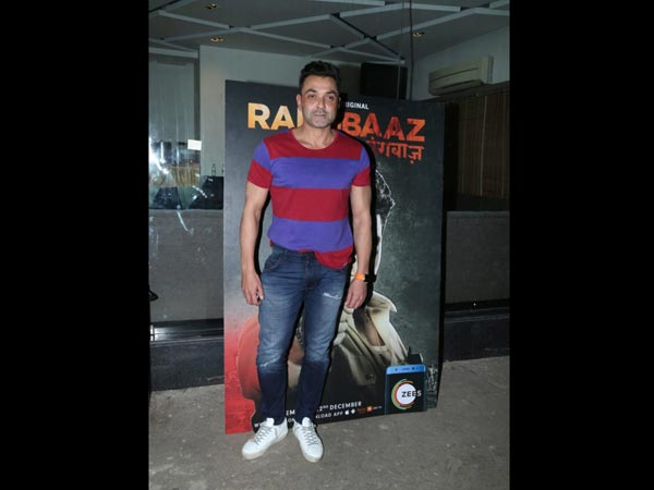 Bobby Deol Attends Rangbaaz Screening