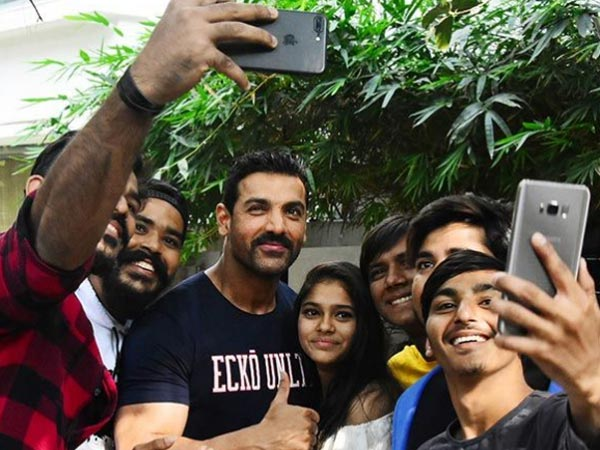 John Abraham Celebrates 46th Birthday In A Very Special Way!