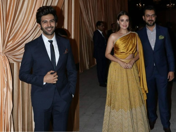 First Pics From Isha- Anand's Wedding Reception: Kartik Aaryan, Dia Mirza & Others Arrive!