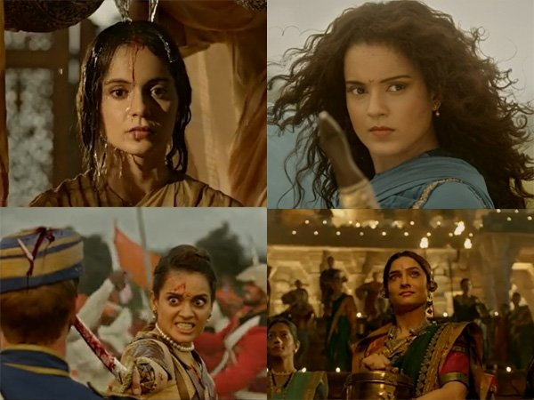 Manikarnika Trailer: Kangana Ranaut Leaves A Roaring Impression As Rani Laxmibai!