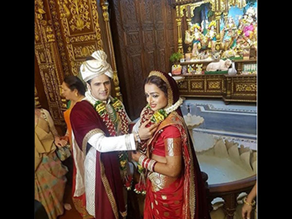 Yeh Rishta Kya Kehlata Hai's Parul Chauhan Gets Hitched; Shivangi & Rajan Shahi Attend The Wedding!