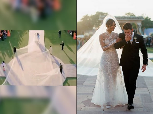 PeeCee's Wedding Gown Took 1826 Hrs To Be Created