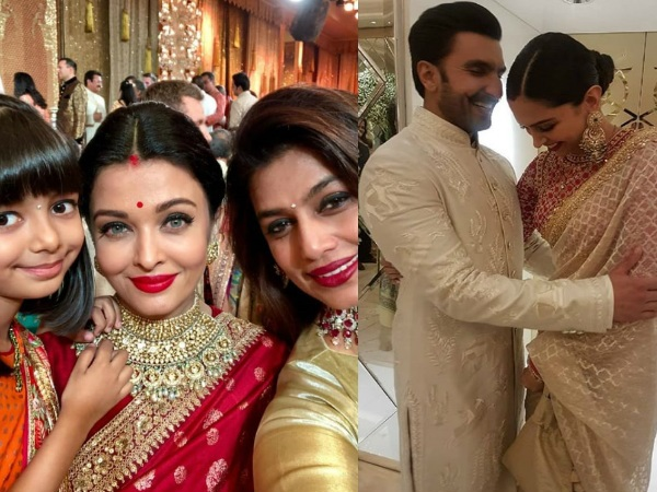 Inside Pics From Isha Ambani's Wedding: Ranveer-Deepika's Candid Moment, Ash-Aaradhya Pose For A Pic