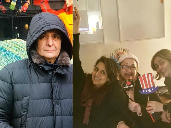 New York Diaries: Rishi Kapoor Goes Shopping, Neetu Kapoor Parties With Her Girl Gang!