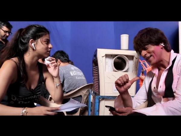 Shahrukh Khan Hopes Daughter Suhana Approves His Performance In 'Mere Naam Tu'