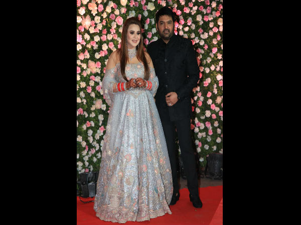 Ranveer, Deepika graces Kapil Sharma-Ginni Chatrath's wedding reception