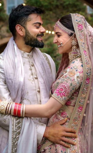 Virat & Anushka Relive Their Wedding With These Unseen Pics!