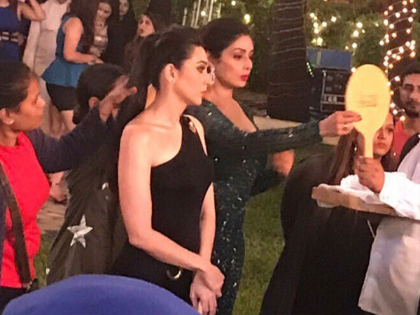 Karisma Kapoor gets emotional about working with Sridevi in 'Zero'!