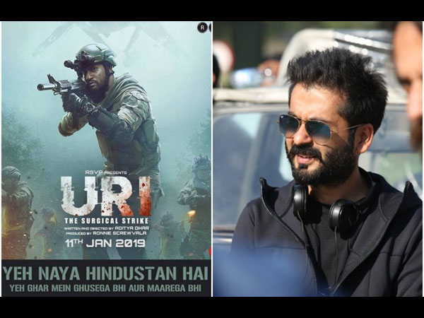 Uri Director Aditya Dhar Feels Casting Vicky Kaushal As A  Solo Hero In The Movie Was A Big Risk