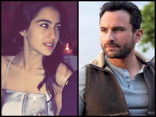 Saif Ali Khan Is Upset With Sara Ali Khan's Over Media Exposure?