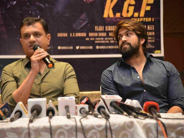 Vijay Kirangdur Announces Release Date KGF Chapter 2 | KGF